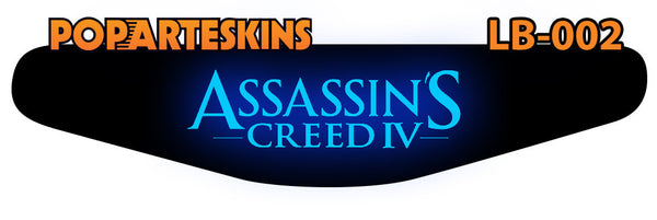 PS4 LIGHT BAR - PS4 Light Bar - Assassins Creed IV - Pop Arte Skins Adesivos