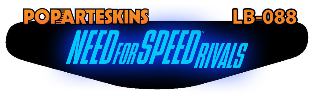 PS4 LIGHT BAR - PS4 Light Bar - Need for Speed Rivals - Pop Arte Skins Adesivos