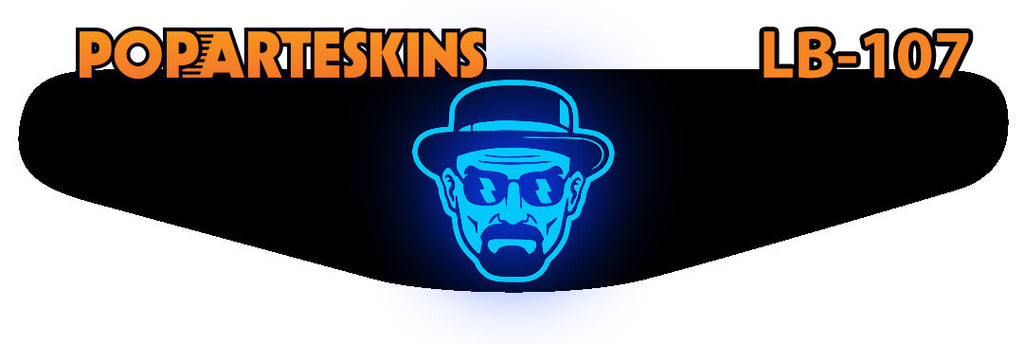 PS4 LIGHT BAR - PS4 Light Bar - Breaking Bad - Pop Arte Skins Adesivos