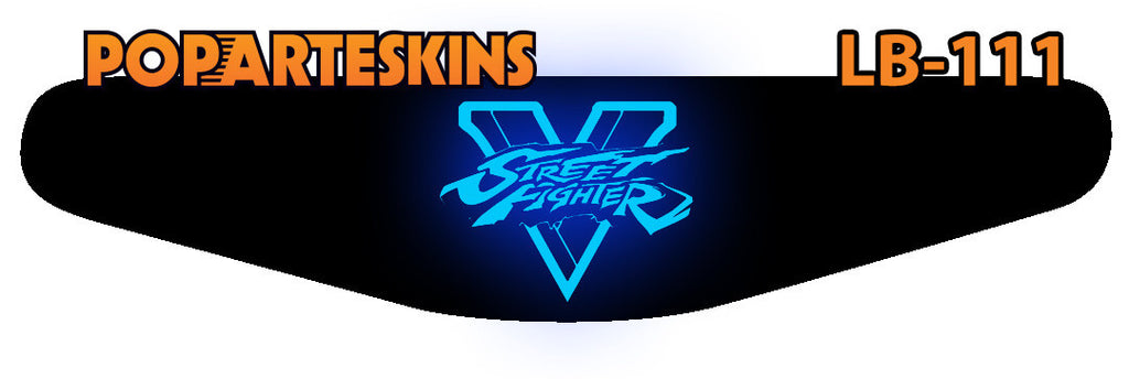 PS4 LIGHT BAR - PS4 Light Bar - Street Fighter V - Pop Arte Skins Adesivos