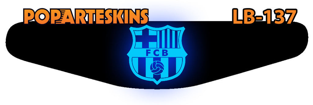 PS4 LIGHT BAR - PS4 Light Bar - Barcelona - Pop Arte Skins Adesivos