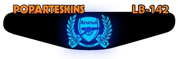 PS4 LIGHT BAR - PS4 Light Bar - Arsenal - Pop Arte Skins Adesivos