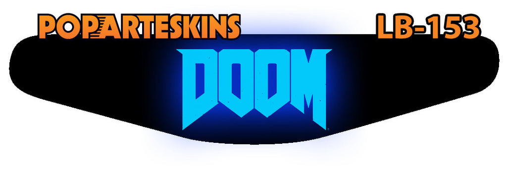 PS4 LIGHT BAR - PS4 Light Bar - Doom - Pop Arte Skins Adesivos