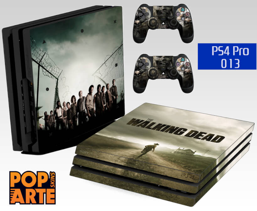 PS4 PRO SKIN -  The Walking Dead