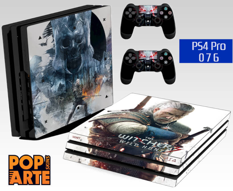 PS4 PRO SKIN - The Witcher