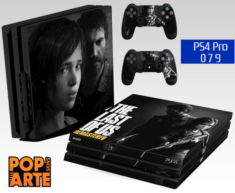 PS4 PRO SKIN - The Last Of Us Remaster