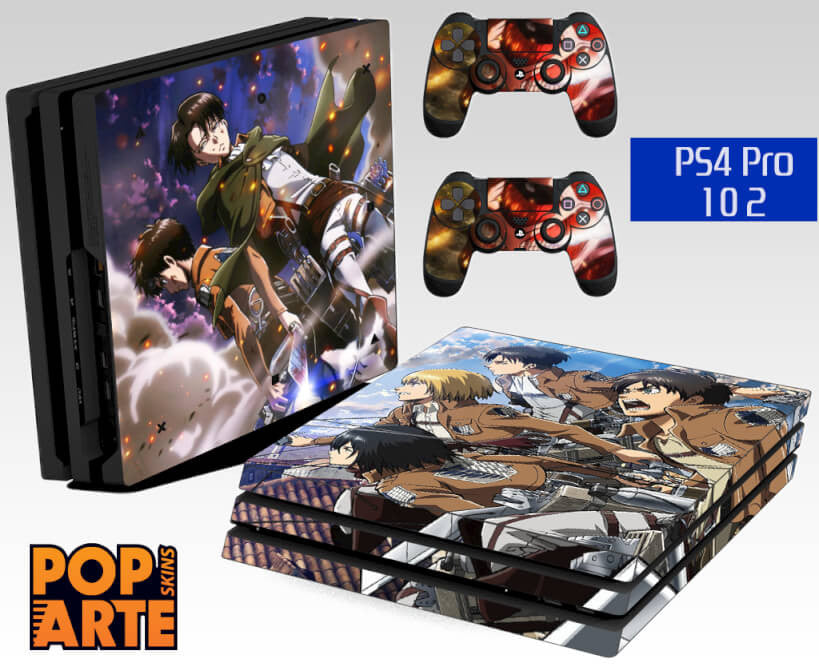 PS4 PRO SKIN - Shingeki no Kyojin - Attack on Titan
