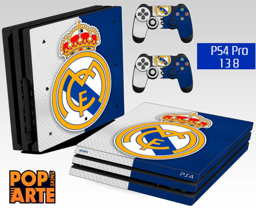 PS4 PRO SKIN -  Real Madrid FC