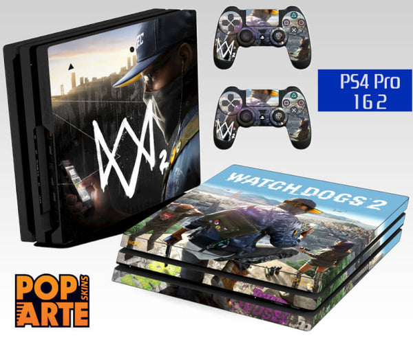 PS4 PRO SKIN - Watch Dogs 2
