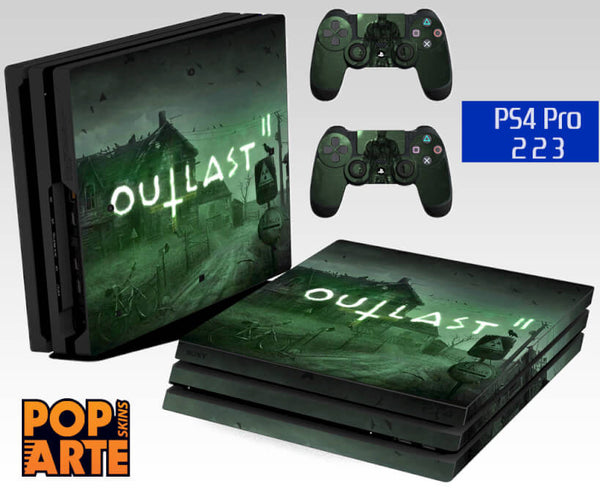PS4 PRO SKIN - Outlast 2
