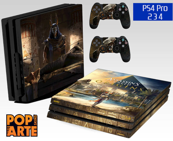 PS4 PRO SKIN - Assassin's Creed: Origins