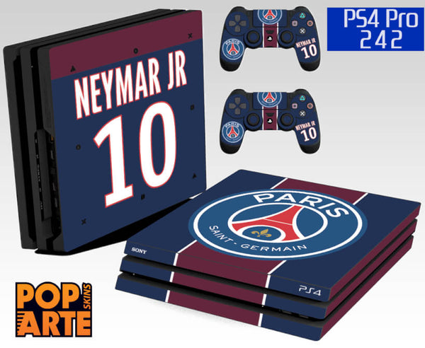 PS4 PRO SKIN - Paris Saint Germain Neymar Jr PSG