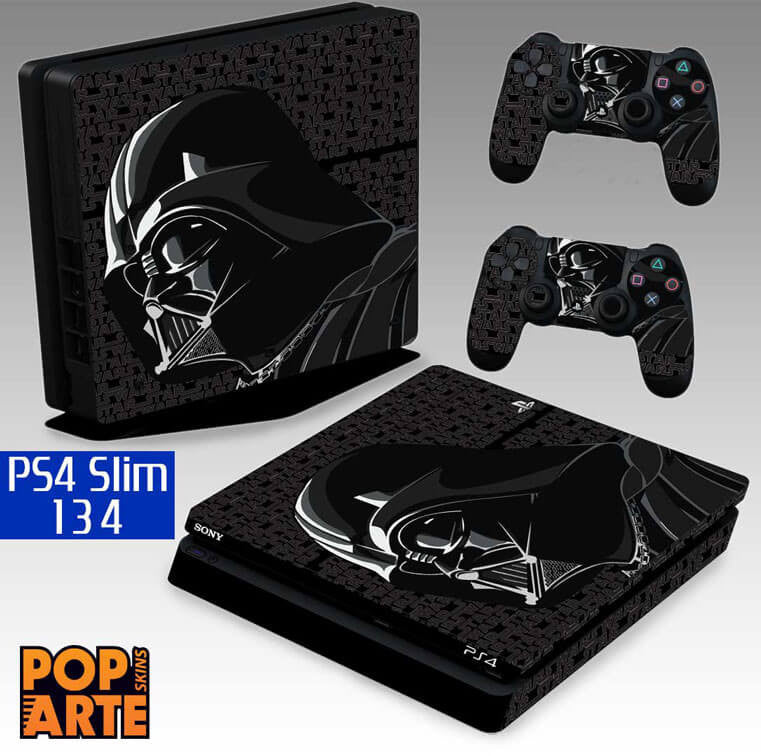 PS4 SLIM SKIN - Copy of PS4 SLIM SKIN - God Of War - Pop Arte Skins Adesivos