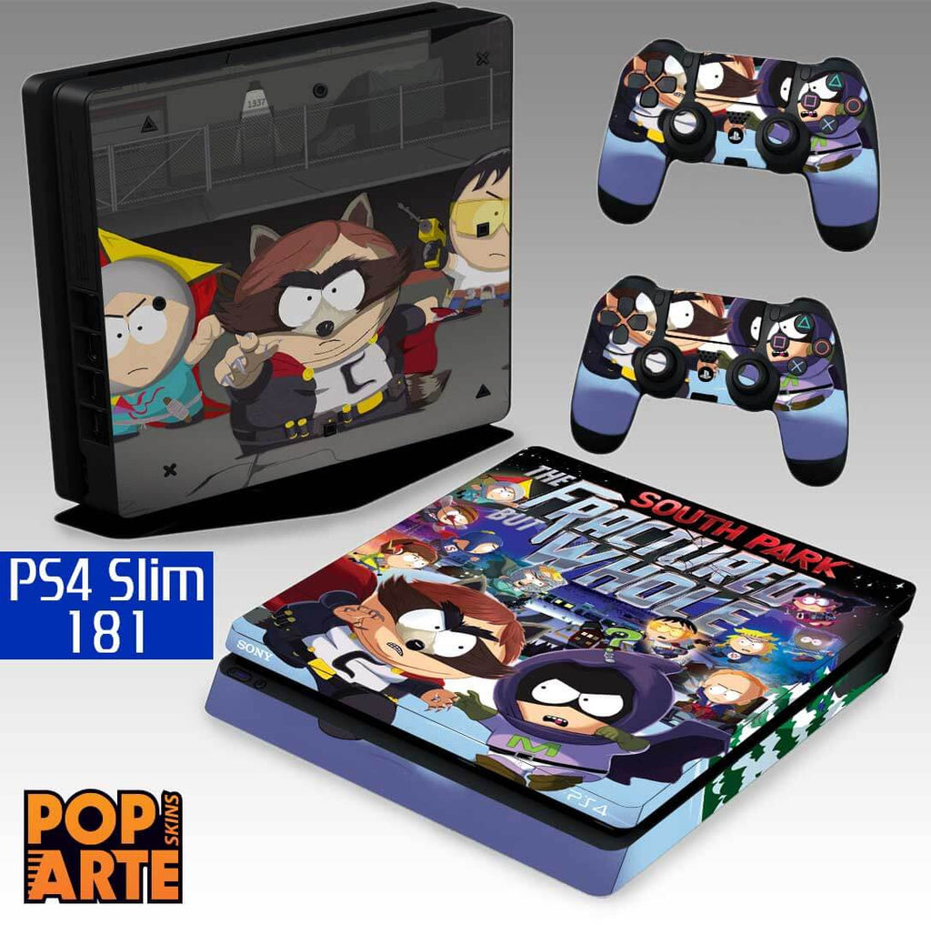 PS4 SLIM SKIN - PS4 SLIM SKIN - South Park: The Fractured but Whole - Pop Arte Skins Adesivos