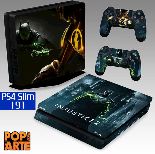 PS4 SLIM SKIN - Injustice 2