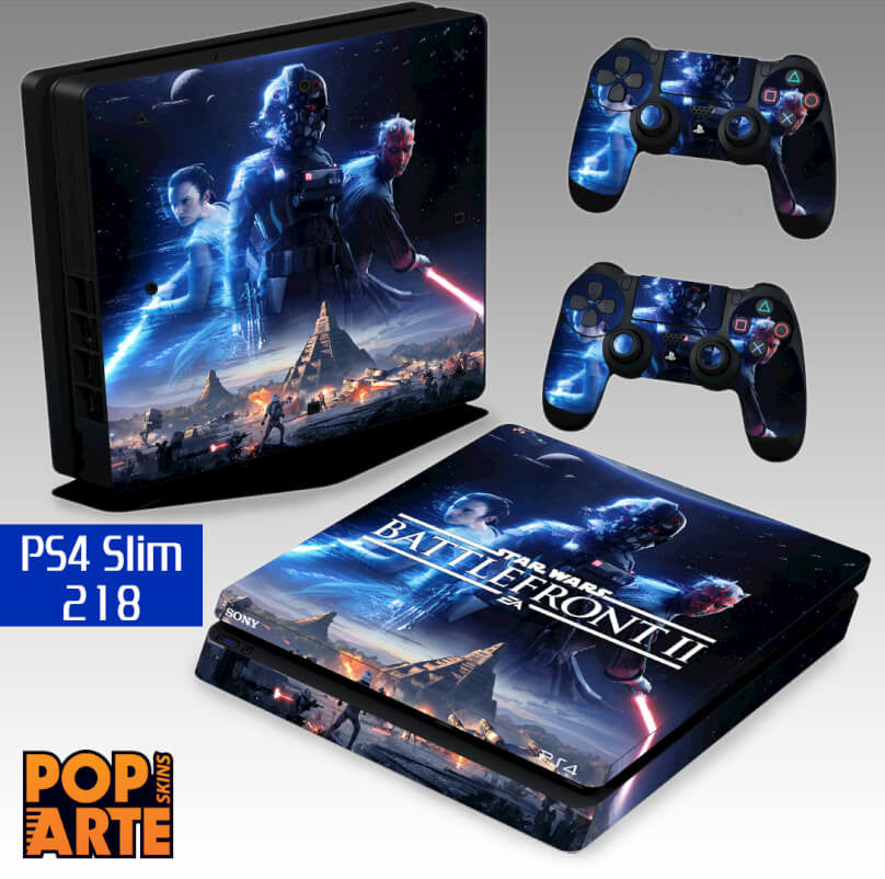 PS4 SLIM SKIN - Star Wars - Battlefront 2