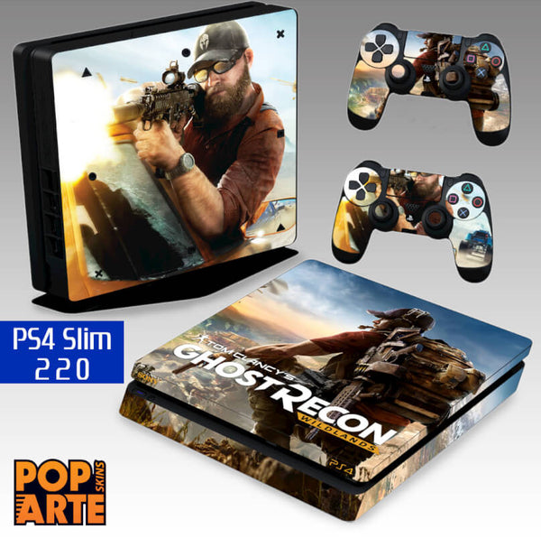 PS4 SLIM SKIN - Tom Clancy's Ghost Recon Wildlands