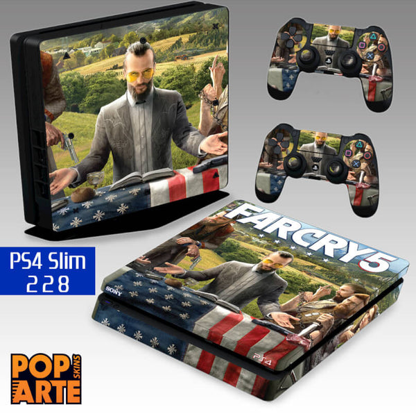 PS4 SLIM SKIN - Far Cry 5