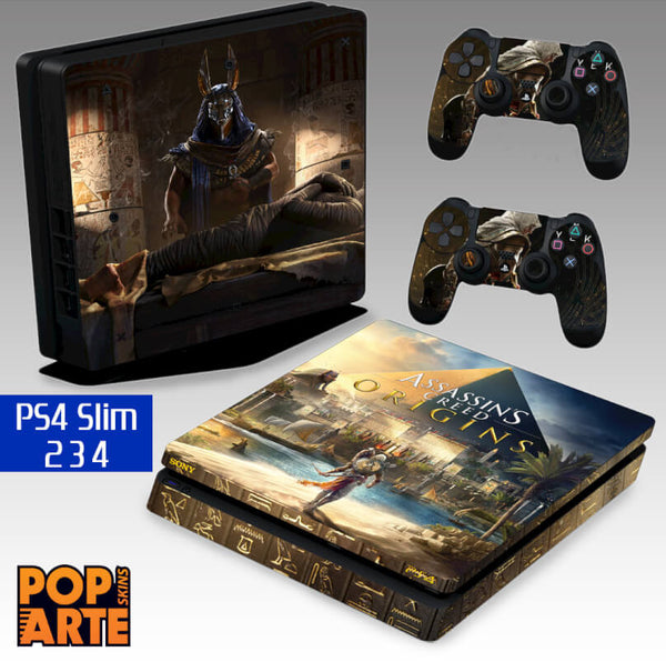 PS4 SLIM SKIN - Assassin's Creed: Origins
