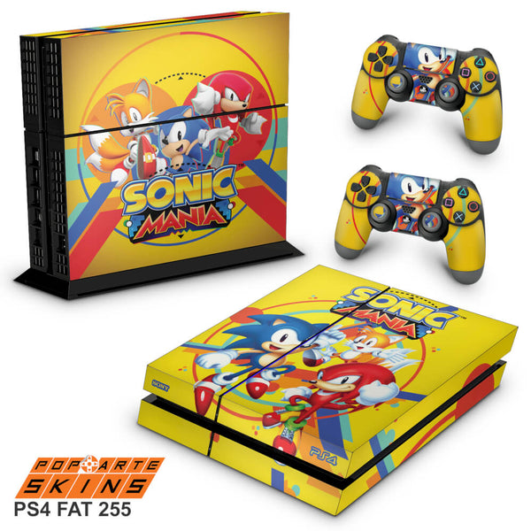 PS4 SKIN - SONIC MANIA
