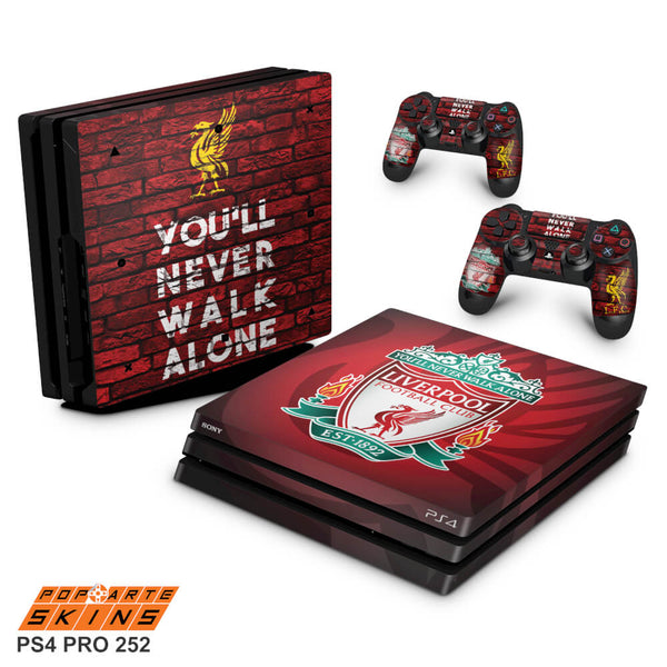 PS4 PRO SKIN - Liverpool Football Club