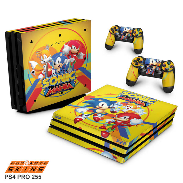 PS4 PRO SKIN - sonic mania