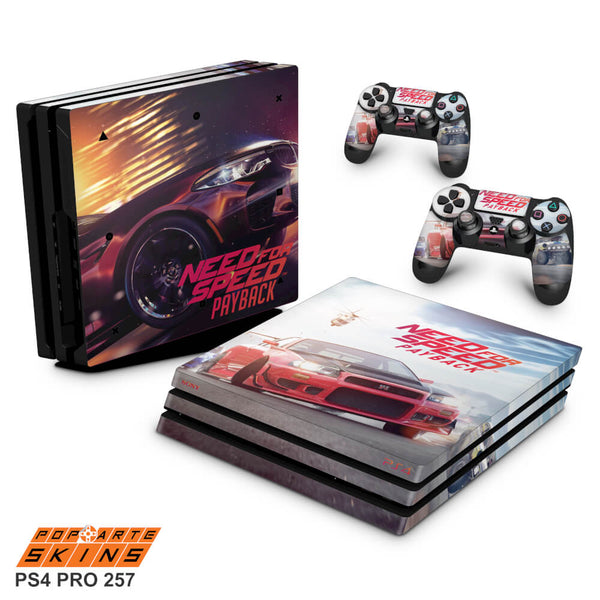 PS4 PRO SKIN - Need for Speed Payback