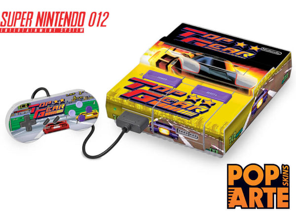 Super Nintendo Skin - Top Gear