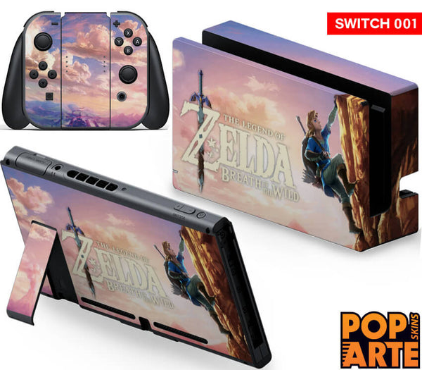 Nintendo Switch Skin - The Legenda of Zelda
