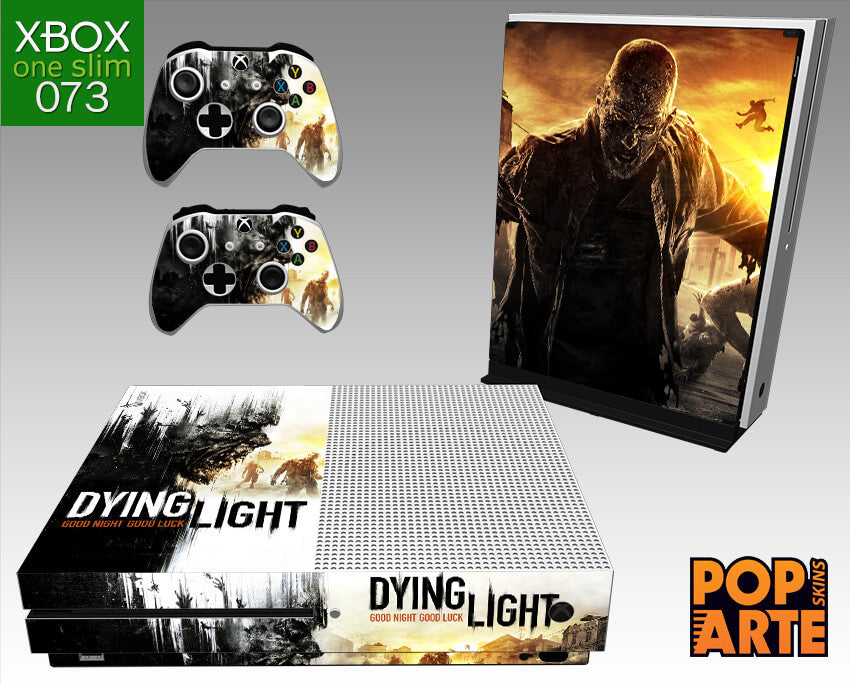 XBOX ONE SLIM SKIN - XBOX ONE SLIM SKIN - Dying Light - Pop Arte Skins Adesivos