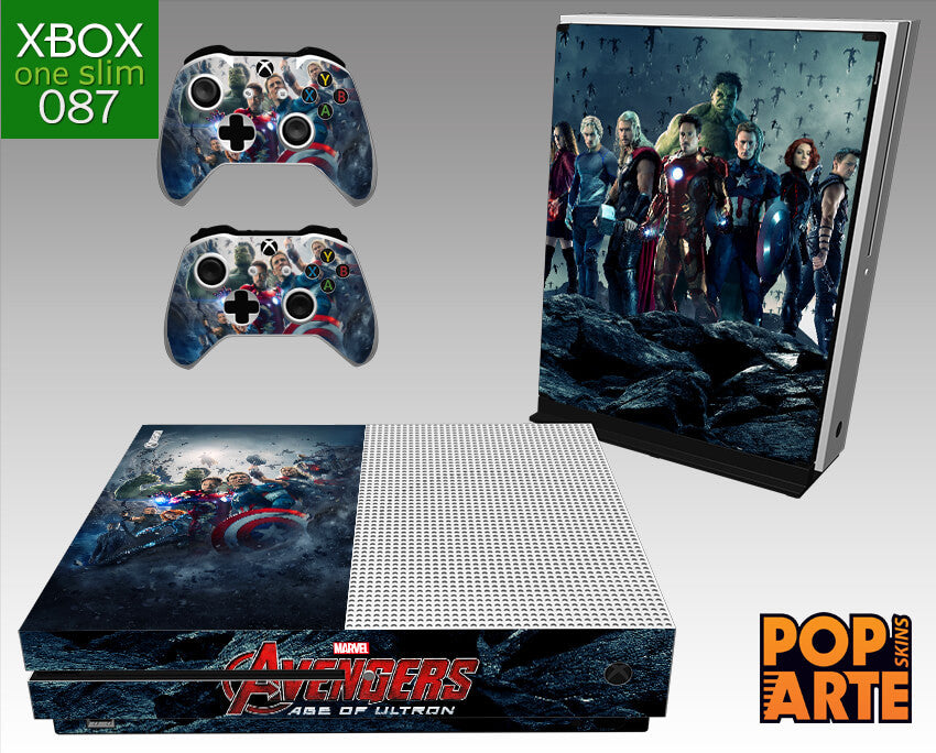 XBOX ONE SLIM SKIN - Avengers - Age of Ultron