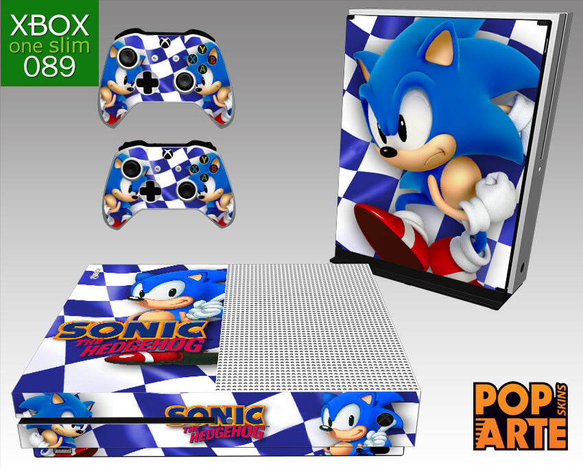XBOX ONE SLIM SKIN - Sonic The Hedgehog