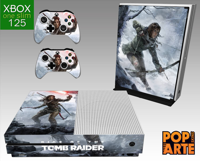 XBOX ONE SLIM SKIN - Rise of the Tomb Raider