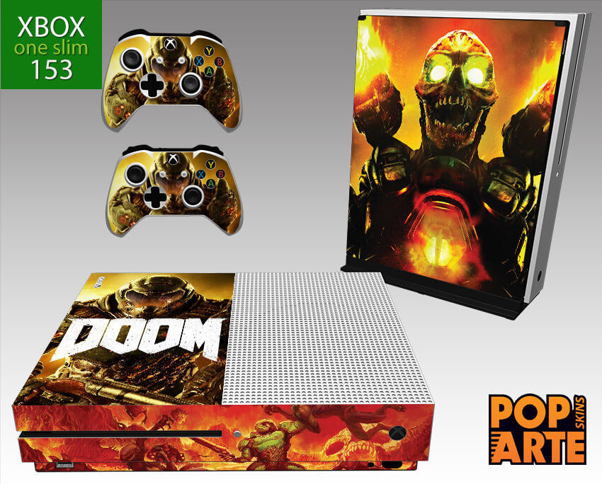 XBOX ONE SLIM SKIN - Doom