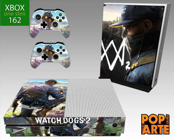 XBOX ONE SLIM SKIN - Watch Dogs 2