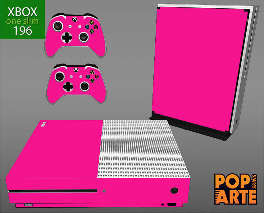 XBOX ONE SLIM SKIN - Cores Sólidas Rosa Pink