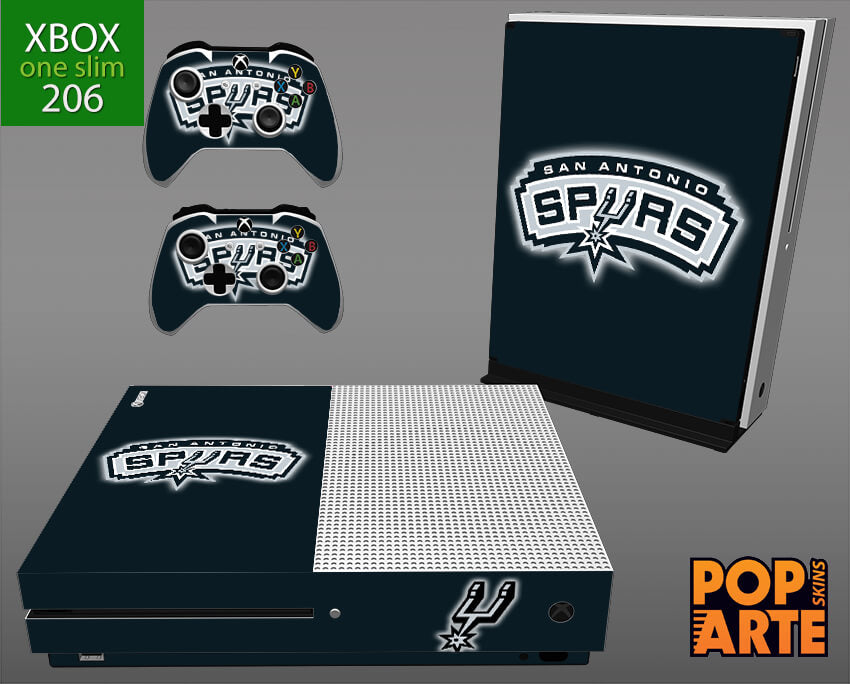 XBOX ONE SLIM SKIN - San Antonio Spurs - NBA