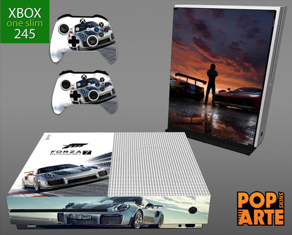 XBOX ONE SLIM SKIN - Forza Motorsport 7