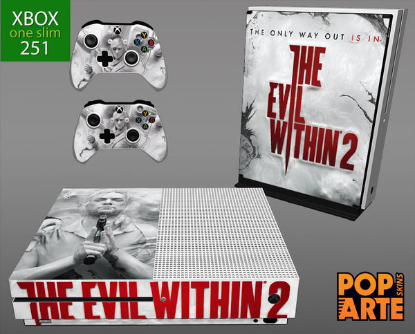 XBOX ONE SLIM SKIN - The evil within 2