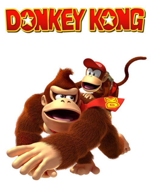 POSTER - Poster Donkey Kong #F - Pop Arte Skins Adesivos