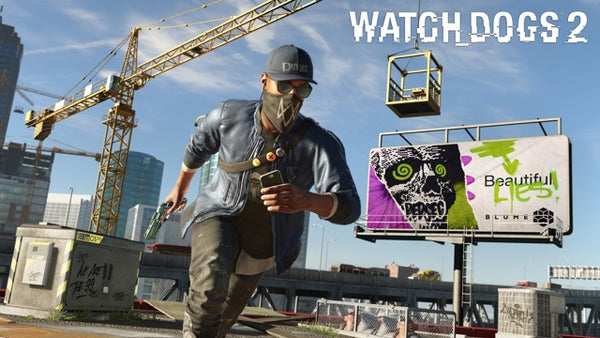 POSTER - Poster Watch Dogs 2 #C - Pop Arte Skins Adesivos