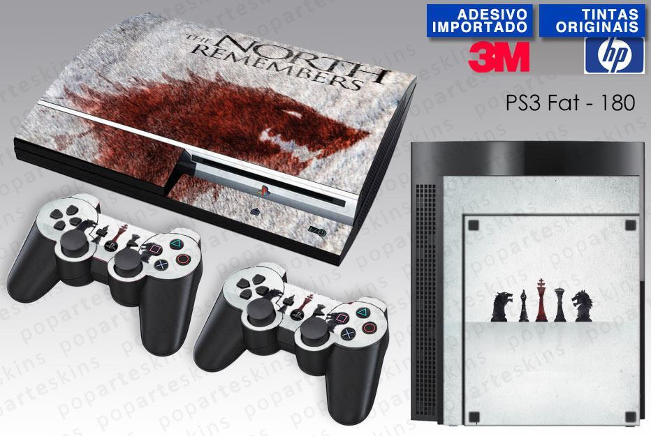 PS3 FAT SKIN - PS3 FAT SKIN - Game of Thrones - Pop Arte Skins Adesivos