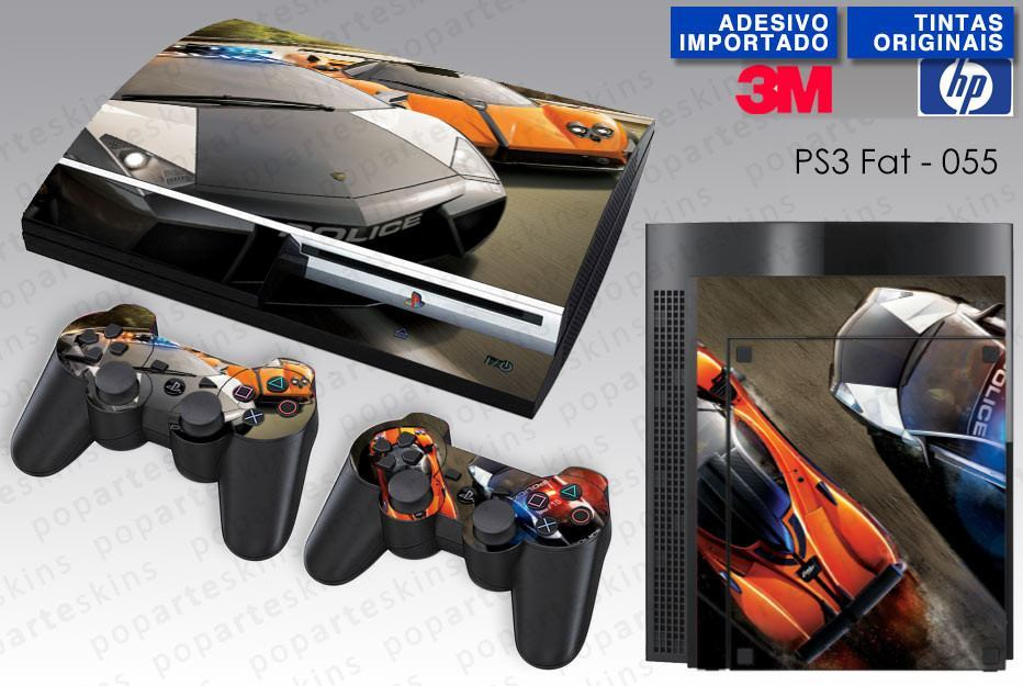 PS3 FAT SKIN - PS3 FAT SKIN - Need for Spee Hot Pursuit - Pop Arte Skins Adesivos