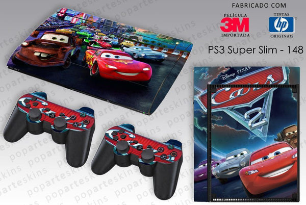 PS3 SUPER SLIM SKIN - PS3 SUPER SLIM SKIN - Carros - Pop Arte Skins Adesivos