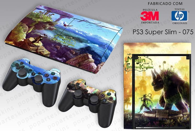 PS3 SUPER SLIM SKIN - PS3 SUPER SLIM SKIN - Majin and the Forsaken Kigdom - Pop Arte Skins Adesivos