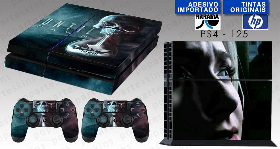PS4 SKIN - PS4 SKIN - Until Dawn - Pop Arte Skins Adesivos