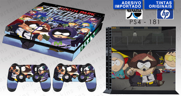 PS4 SKIN - PS4 SKIN -  South Park: The Fractured but Whole - Pop Arte Skins Adesivos