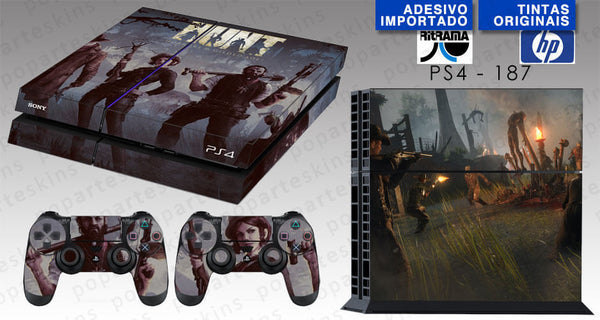 PS4 SKIN - PS4 SKIN - Hunt: Horrors of the Gilded Age - Pop Arte Skins Adesivos