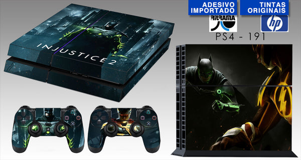 PS4 SKIN - Injustice 2