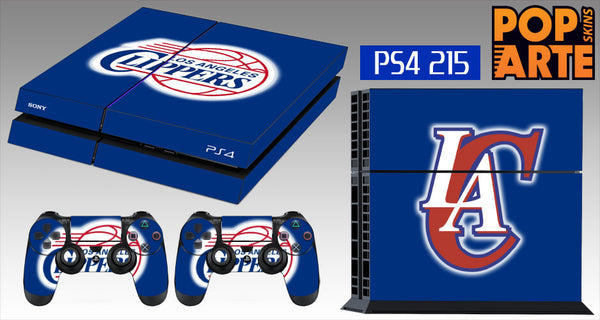 PS4 SKIN - Los Angeles Clippers - NBA